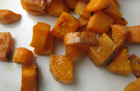 Photo of Sweet Potato 'Croutons'
