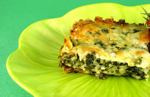 Photo of Spinach & Brown Rice Casserole