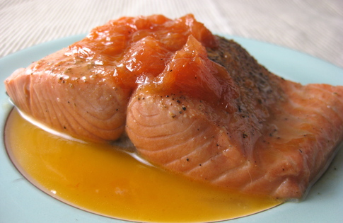 Photo of Grapefruit Glazed Salmon