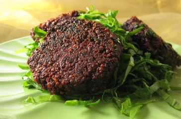 Photo of Beets & Seeds Burgers