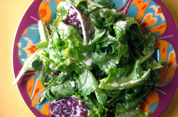 Photo of Horseradish Dressed Greens