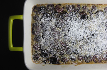 Photo of Almond Cherry Clafoutis