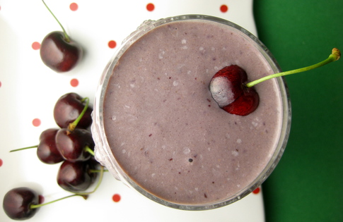 Photo of Cherry Walnut Smoothie