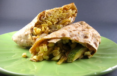 Photo of Zucchini, Corn & Quinoa Wraps