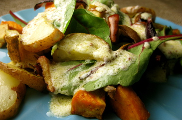 Photo of Creamy Roasted Potato & Apple Salad