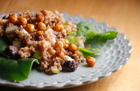 Photo of Fig & Feta Bulgur Salad
