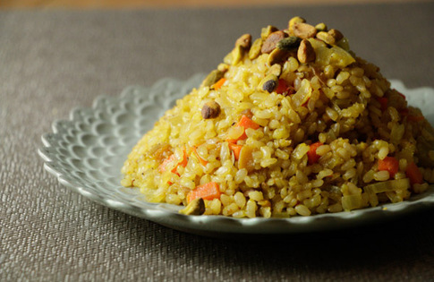 Photo of Saffron Baked Pilaf