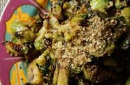 Photo of Dukkah Brussels Sprouts