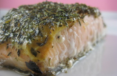 Photo of Salmon with Herbs de Provence
