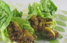 Photo of Asian Plum Lettuce Wraps
