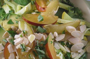 Photo of Plum, Summer Squash & Avocado Salad