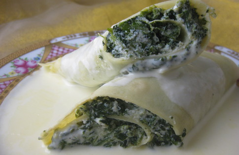 Photo of Spinach Crepes