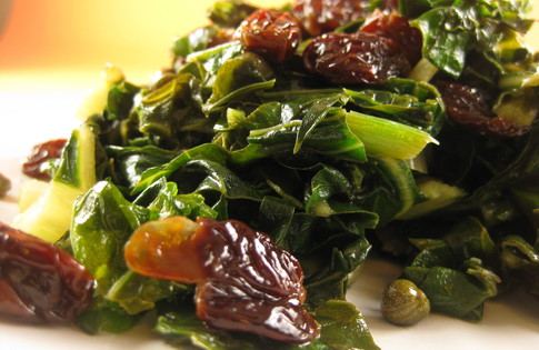 Photo of Collards with Cherries