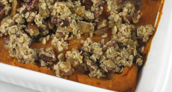 Photo of Streusel Topped Sweet Potatoes