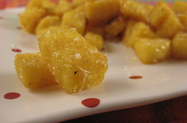 Photo of Polenta Croutons