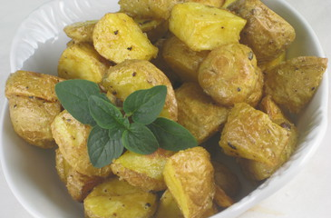 Photo of Dijon Roasted Potatoes