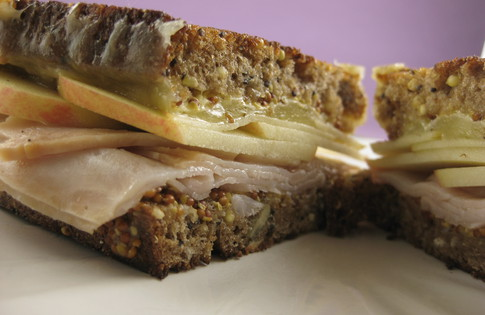 Photo of Apple & Turkey Grilled Cheese
