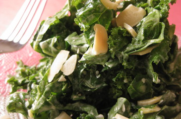 Photo of Creamy Ginger Kale Salad