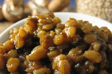 Photo of Mushroom Barley Risotto