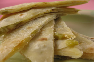 Photo of Green Chili Quesadillas