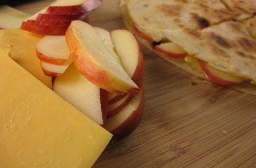 Photo of Apple Quesadilla