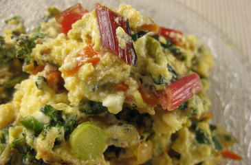 Photo of Broccoli & Chard Scramble