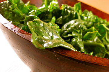 Photo of Lemon Dressed Spinach Salad