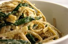 Photo of Goat Cheese & Kale Pasta