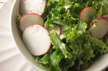 Photo of Radish & Greens Salad