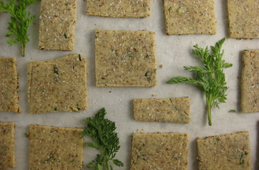 Photo of Almond-Herb Crackers