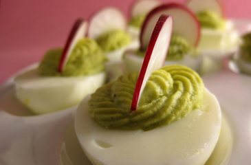Photo of Avocado-Wasabi Deviled Eggs