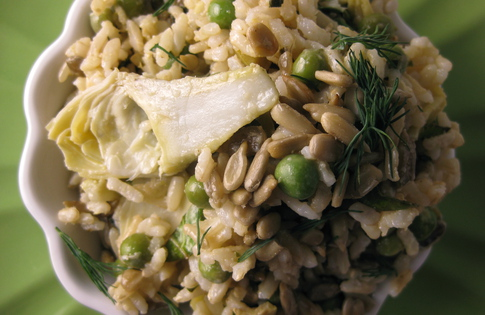 Photo of Spring Rice & Artichoke Salad