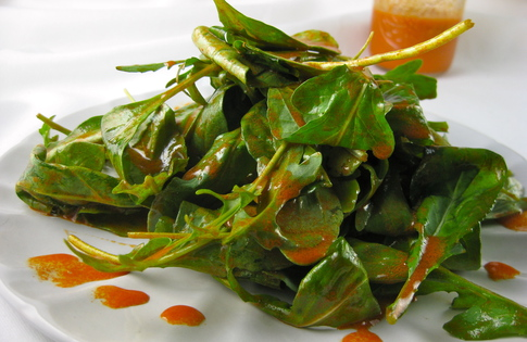 Photo of Carrot Dressed Arugula