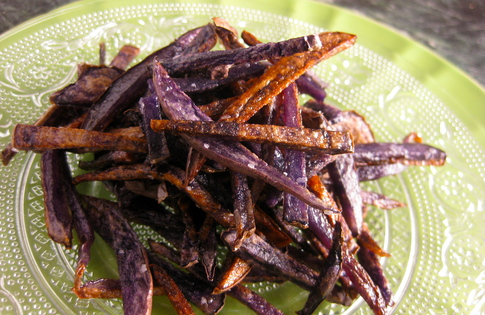 Photo of Purple Potato Toothpicks
