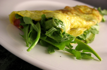 Photo of Avocado Arugula Omelette