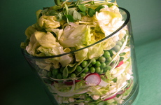 Photo of Layered Spring Salad