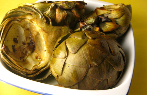 Photo of Grilled Artichokes