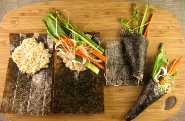 Photo of Spring Sushi Handrolls