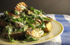 Photo of Grilled Potato & Greens Salad