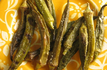 Photo of Grilled Okra