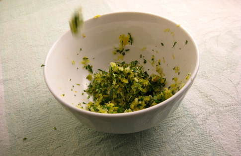 Photo of Gremolata