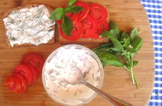 Photo of Tomato Basil Sandwich