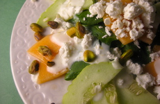 Photo of Cucumber & Cantaloupe Green Salad