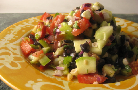 Photo of Summer Veggie & Black Bean Salad