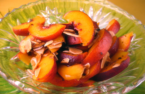 Photo of Almond Kissed Peaches