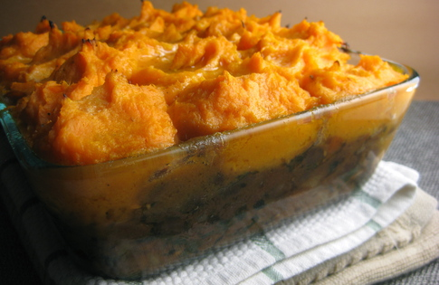 Photo of Sweet Potato & Bean Shepherd's Pie