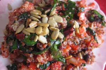 Photo of Red + White Quinoa
